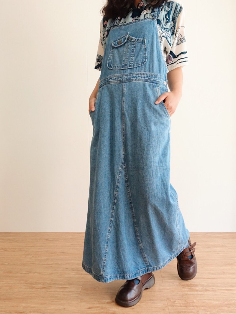 Vintage / Skirt / Denim no.8 tk