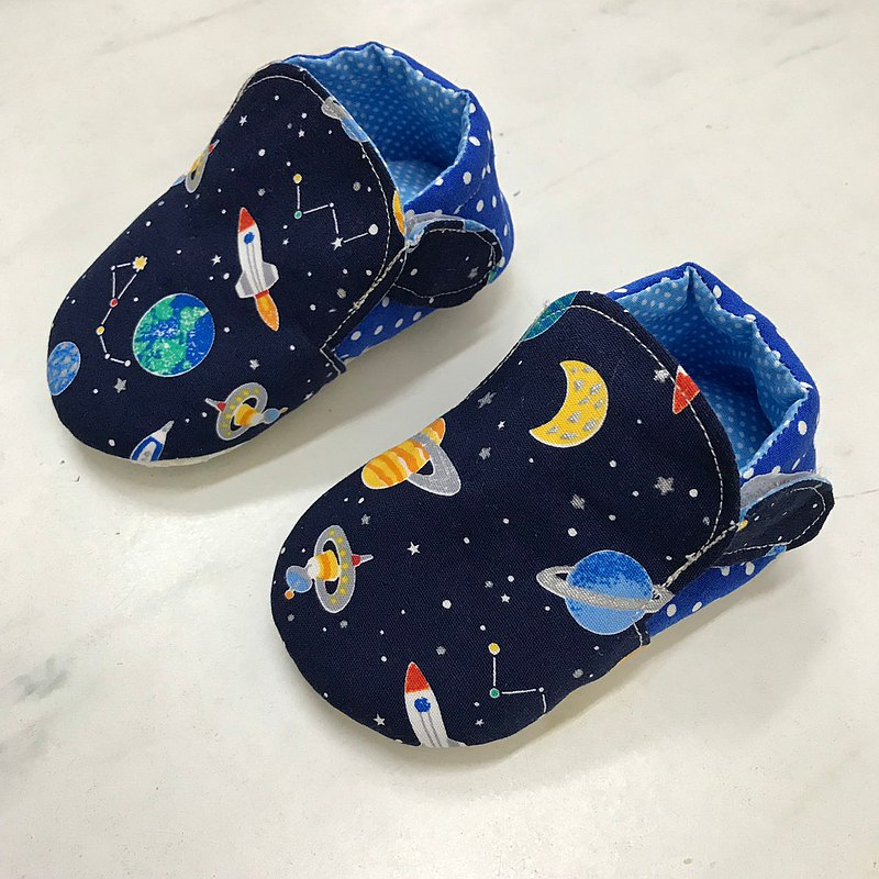 Starry sky toddler shoes