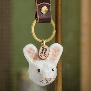 Bunny key ring / animal key ring