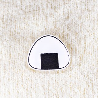 Rice ball brooch _ onigiri