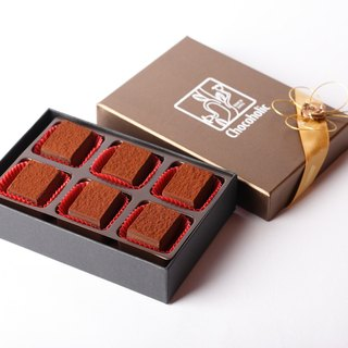 70% of the original flavor raw chocolate gift box (6 in)