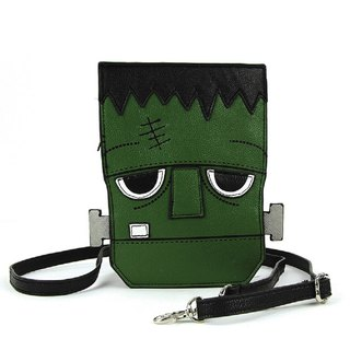 Sleepyville Critters - Frankenstein Crossbody Bag