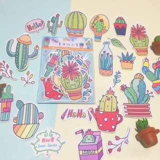 Summer Cactus / Sticker Pack