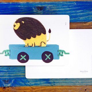 Mumu  Postcard - Lion