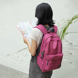 Athena backpack(14'' Laptop OK)-Fuchsia_100188-76