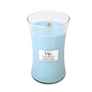 [VIVAWANG] WW22oz fragrance cup wax (sea salt cotton). Full of holiday atmosphere, appease cotton soft and delicate woody incense.