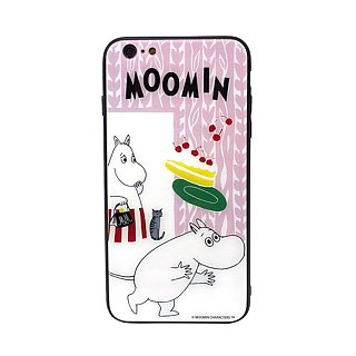 Moomin 噜噜米 authorized - mobile phone glass case, AE05