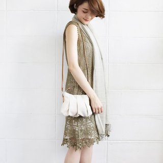 Crossbody Bags Mini Skirt XS Hand woven Natural Color Cotton