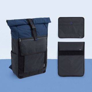 Activities countdown D + 1 backpack combination - mine black ash ink blue 2