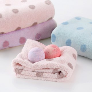 CB Japan Dot Series Microfiber 3X Absorbent Bath Towel