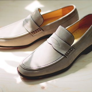 Classic double suture will Shirefu shoes morning fog gray