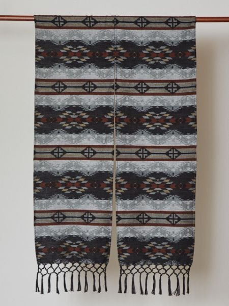 【Pre-order】 ✱ autumn and winter new Indian totem line curtain ✱ (two-color)