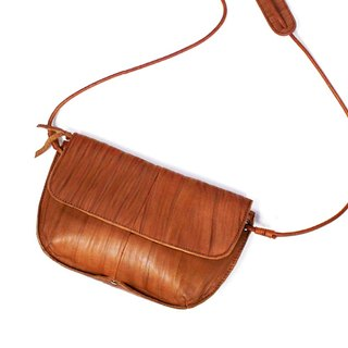 Handmade Leather Shoulder Bag, Women Leather Backpack