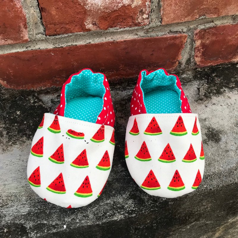 Watermelon - toddler shoes. baby shoes