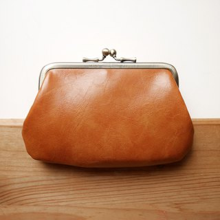 Hand の temperature mouth gold buns mother bag / purse [made in Taiwan]