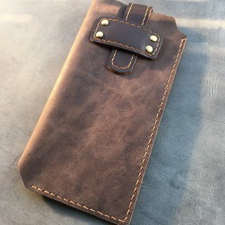Hin window leather art - handmade leather - cell phone bag hand-made leather tanned chrome tanning customized customization