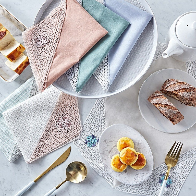 French embroidery placemat
