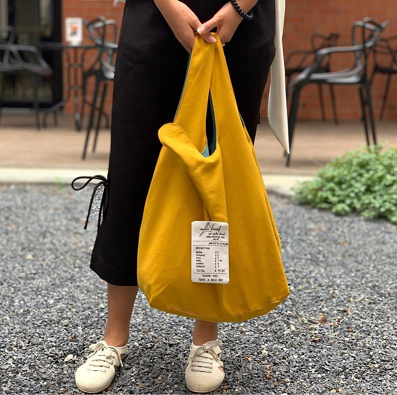 Wyllabrand Grocery bag Mustard
