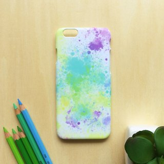 Color ink Party. Matte Case( iPhone, HTC, Samsung, Sony, LG, OPPO)