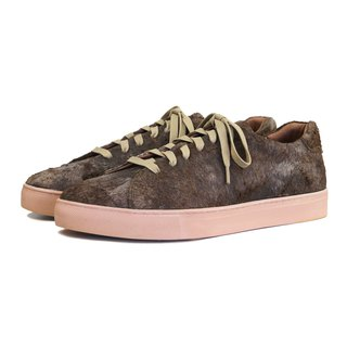 Cracky Monster M1191 Brown Leather Sneaker