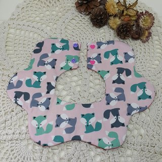 Small fox flower pocket / baby bibs / bibs [FL171103]