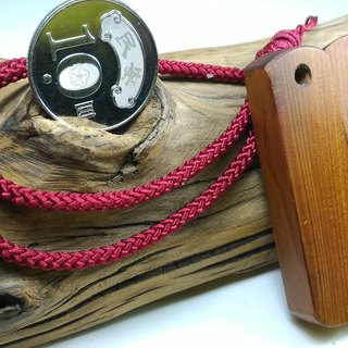 Taiwan red bean pine pendant couple (A)