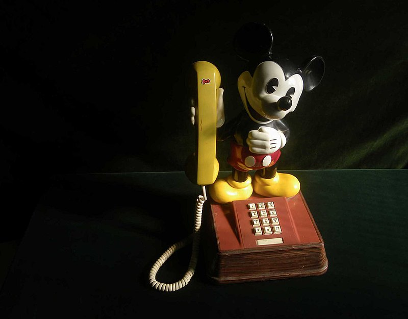 [OLD-TIME] Early rare Disney Mickey Mouse phone