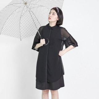 Heartbeat 怦 异 material dress _8SF103_ black