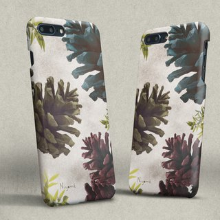iphone case color Pine cones for iphone5s,6s,6s plus, 7,7+, 8, 8+,iphone x