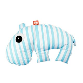 Denmark Done by Deer -OZZO hippopotamus hold pillow