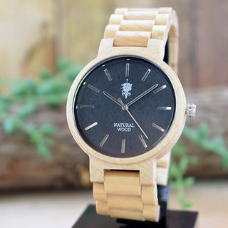 EINBAND Dank Maplewood 40mm Wooden Watch