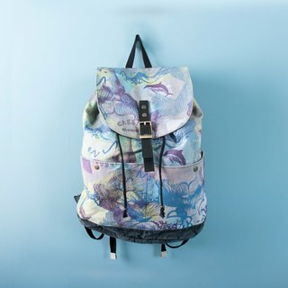 Drawstring Backpack Dolphin