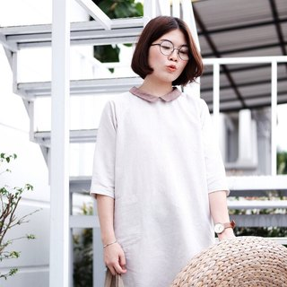 Nobi Dress : Beige