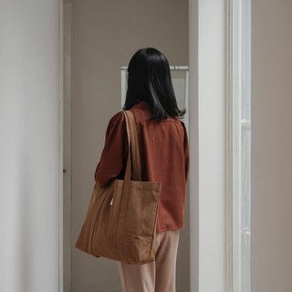 ACOHI canvas bag | brown
