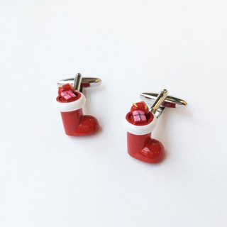 Christmas limited - Christmas socks Cufflinks Christmas Sock Cufflink