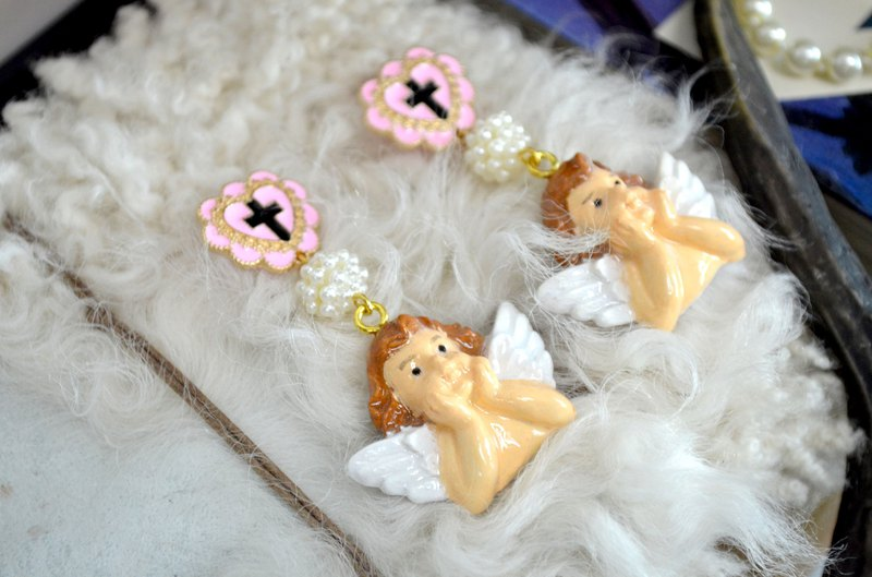 Love God Cupid Earrings