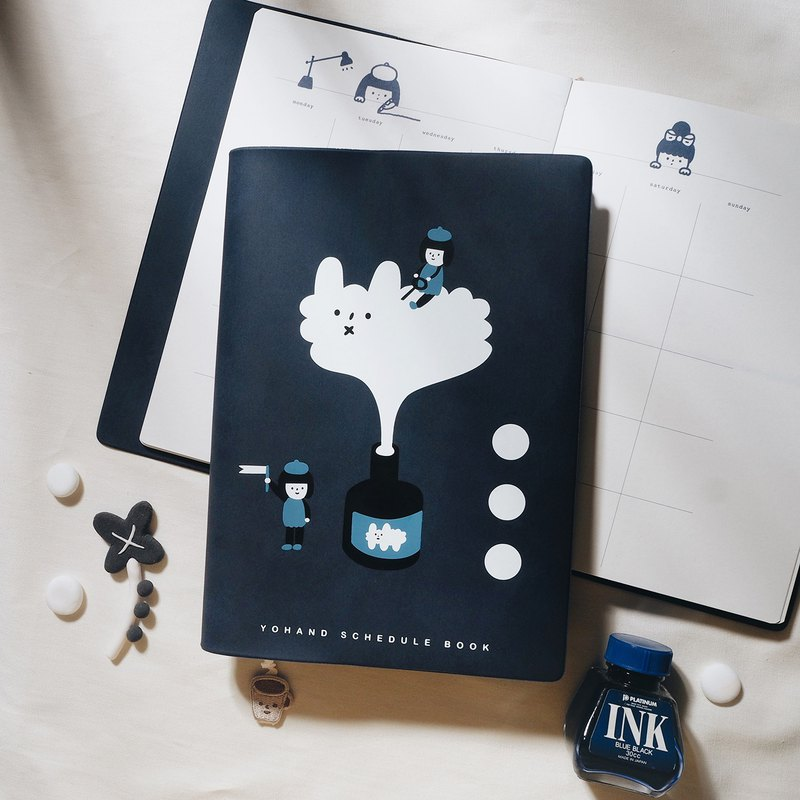 Ink and inspiration - Schedule book - A