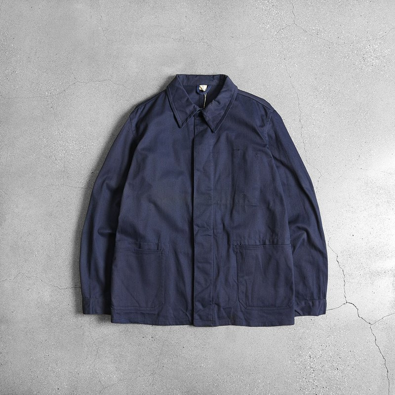 Europe Blue dyed work jacket
