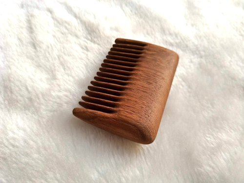 Moment Wooden -Talkwood-Square Comb (Myanmar Teak)