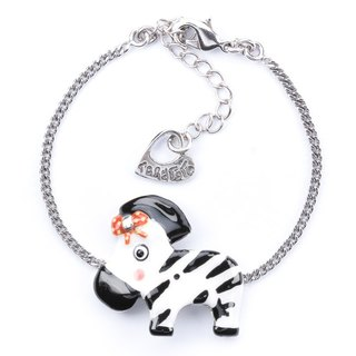 【Paris, France TARATATA】 animal zebra bracelet series