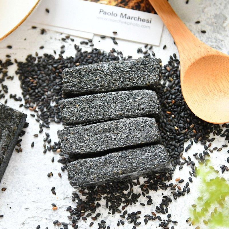 【高宏顆顆香】台灣手工黑芝麻系列-綿密手工芝麻糕 100g/袋