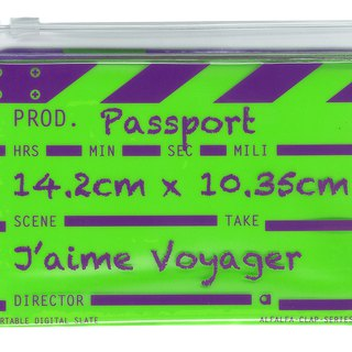 Director clap Classic passport - Green