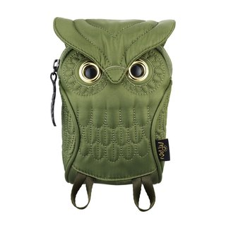 Morn Creations genuine owl phone package - Green (OW-105-GN)