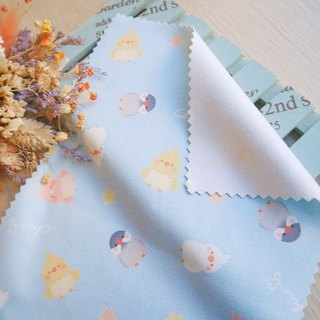 Large collection of bird-like suede wipes / ChiaBB glasses cloth wiper cloth