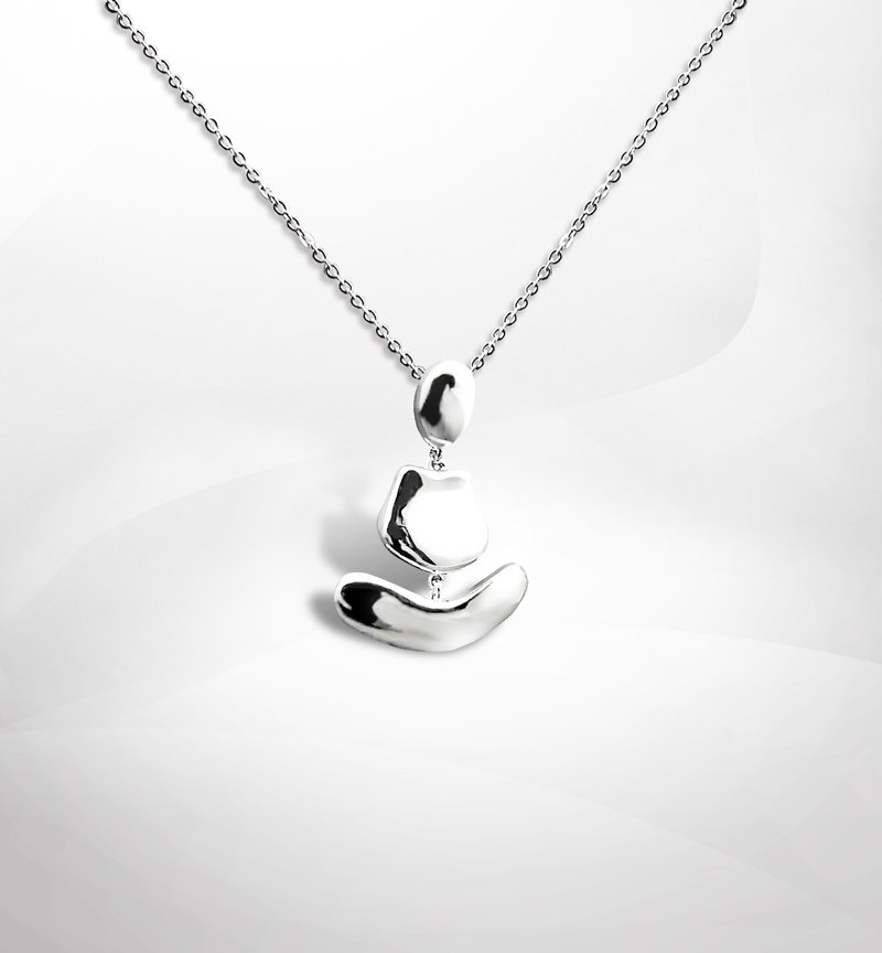 VINHAS ZEN Collection 925 sterling silver necklace