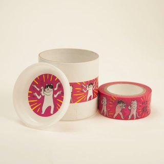 Three cat shop ~ cat fist paper tape