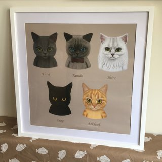 Exclusive Order - Phoebe meow star people illustration