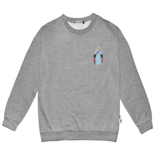 British Fashion Brand -Baker Street- Little Stamp:Queen  Printed Sweater