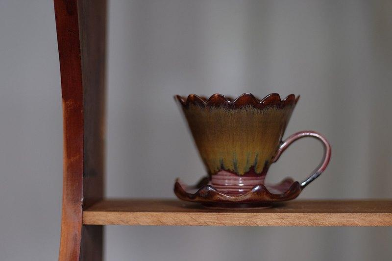 秋冬楓紅濾杯