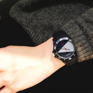 【PICONO】Black & White - black Sport Watch / BA-BW-01